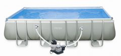 INTEX Swimming Pool Ultra-Frame 549x274x132 cm 28352 B-Ware
