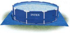 Intex Bodenschutzplane bis 457 cm für Gartenpools 28048