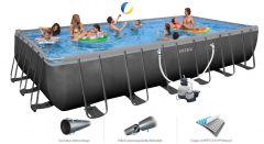 INTEX Swimming Pool Ultra-Frame 732x366x132 cm 28362 GS