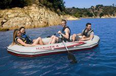 Intex 4 Personen Profi Boot -Set Mariner 4 68376