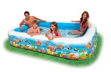 Intex Schwimm Center Family Pool Tropical Reef 58485