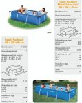 INTEX Swimming Pool Family Frame 300x200x75cm 28272