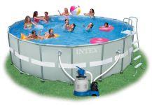 Poolfolie für Intex Ultra Frame Pool 549x132cm