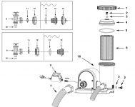 INTEX Ersatz Filterpumpe 5700 L/H