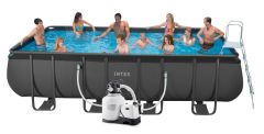 intex swimming pool ultra frame 549x274x132 cm 26352. Black Bedroom Furniture Sets. Home Design Ideas