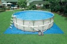 Intex Ultra Frame Pool Komplett-Set 549x132 ECO 26332