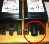 Transformator 12V Trafo für Filterpumpe 3785 L/H INTEX 10885