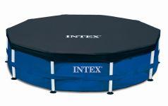 Intex Metal Frame Pool Komplett Set 457x84 ECO 28240