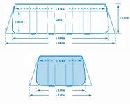 INTEX Prism Frame Pool 400x200x100 26788