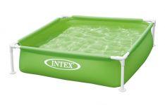 INTEX Mini Frame Pool 122x122x30cm Grün 57172