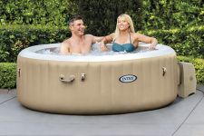 Whirlpool PureSpa Intex SPA Bubble Therapy + Kalkschutz 28404