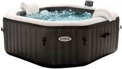 Whirlpool Intex Jet + Bubble Deluxe Kalkschutz +Salzwasser 28458