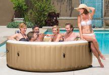 Whirlpool PureSpa Intex SPA XXL Bubble Therapy+Kalkschutz 28408