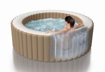 Whirlpool PureSpa Intex SPA XXL Bubble Therapy+Kalkschutz 28408