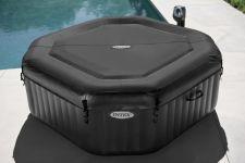Whirlpool Intex Jet Massage Octagon + Kalkschutz 28436