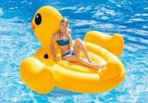 Intex Badeinsel Mega Yellow Duck Island 56286