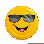 Intex Luftmatratze Cool guy Smile Emoticon Emoji 57254