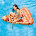 Intex Luftmatratze Pizza Slice 175x145cm 58752