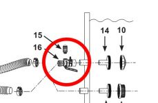 Intex Luftadapter Wasserbelebungs-Düse 12368