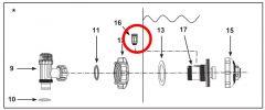 Intex Luftstrahlventil 12363