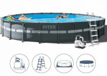 Intex Ultra XTR Frame Pool Set 732x132 + Sandfilter 26340