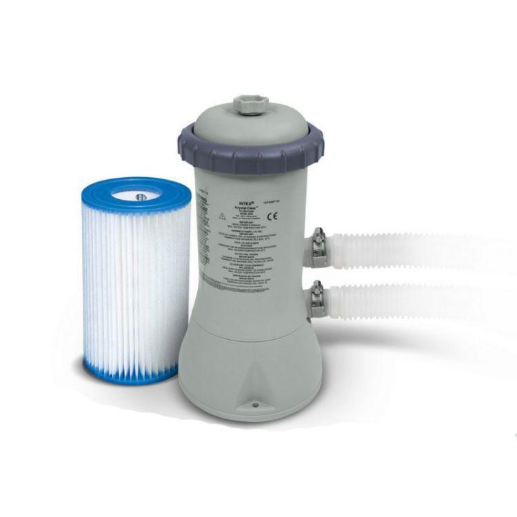 Intex pool filterpumpe 3785 l std inkl 1 filter 28638 for Pool filterpumpe obi