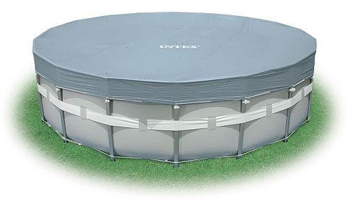 intex deluxe uv abdeckplane f r frame pool 549 cm 28041. Black Bedroom Furniture Sets. Home Design Ideas