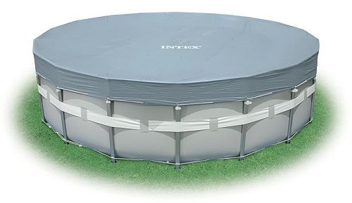 intex deluxe uv abdeckplane frame pool 488 508cm 28040. Black Bedroom Furniture Sets. Home Design Ideas