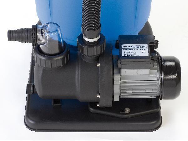 Ersatz filterpumpe sandfilteranlage speedclean 40922 - Poolpumpe mit sandfilter ...