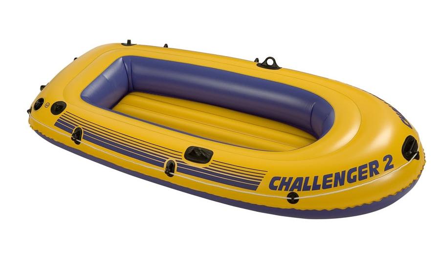 intex schlauchboot challenger 2 68366. Black Bedroom Furniture Sets. Home Design Ideas