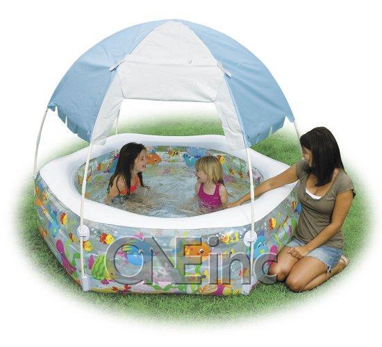 baby pool mit dach
