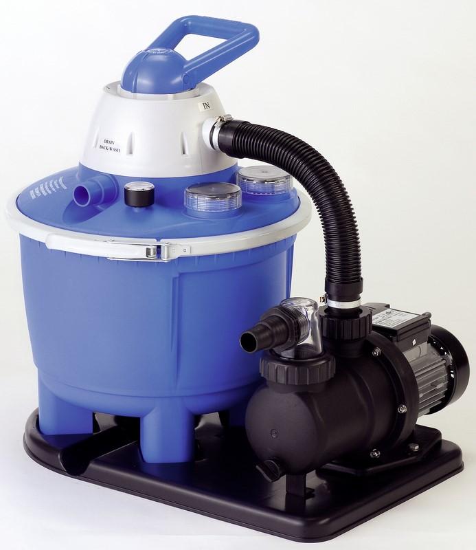 Sandfilteranlage speedclean 50 comfort for Pool 457x122 mit sandfilteranlage