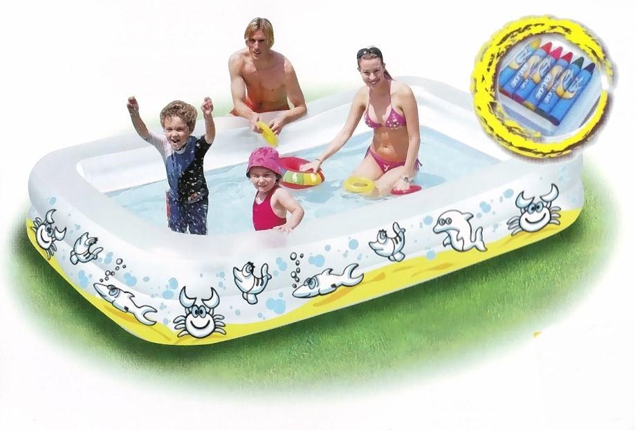 color me pool planschbecken schwimmbecken xxl 40744. Black Bedroom Furniture Sets. Home Design Ideas