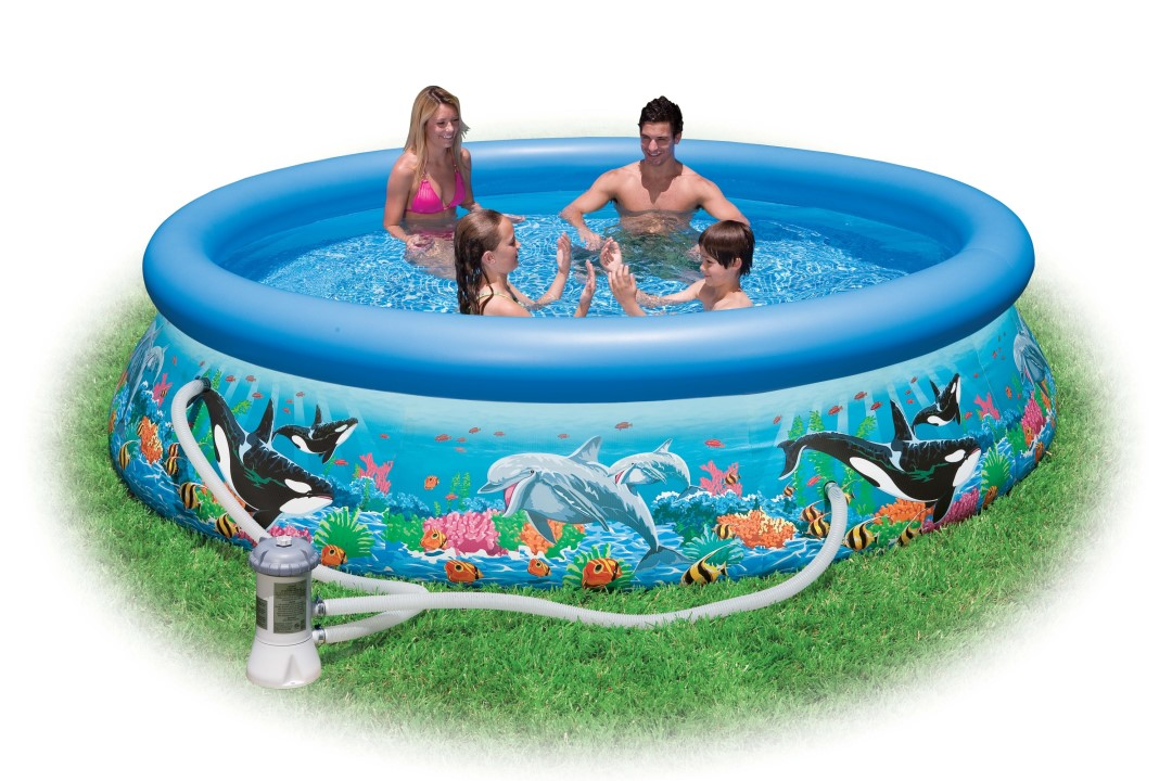Intex swimming pool ocean reef 305x76cm 28126 gs How to draw swimming pool water
