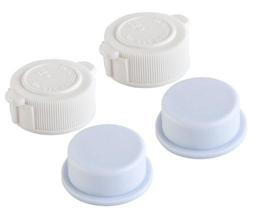 Intex ventil verschluss set 2x deckel 10043 2x st psel 10044 for Bouchon piscine intex