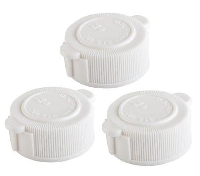 Intex ventil schraubverschluss deckel 3er set 10043 for Bouchon intex piscine