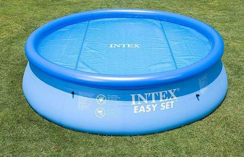 intex solarplane f r 244 cm easy pool 29020. Black Bedroom Furniture Sets. Home Design Ideas