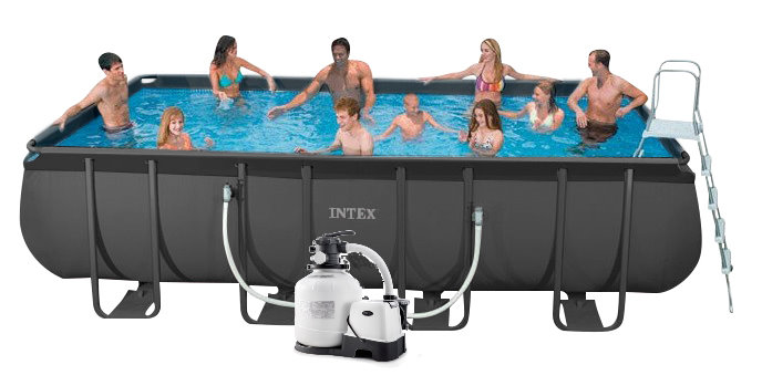 Intex Ultra Xtr Frame Pool 549x274x132 Mit Sandfilter 26356