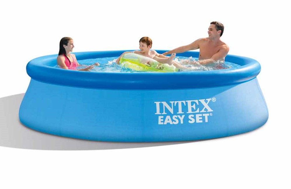intex swimming pool easy set 305x76cm 28122 gn. Black Bedroom Furniture Sets. Home Design Ideas
