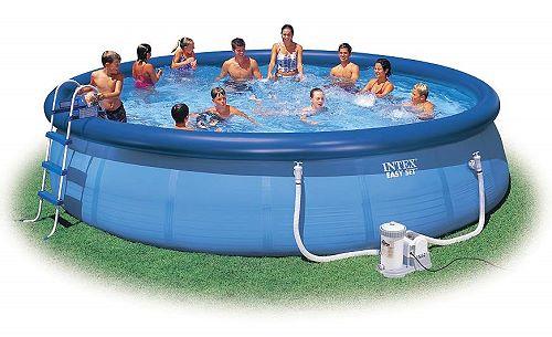 intex swimming pool easy set 549x122 set eco 28176 gs. Black Bedroom Furniture Sets. Home Design Ideas
