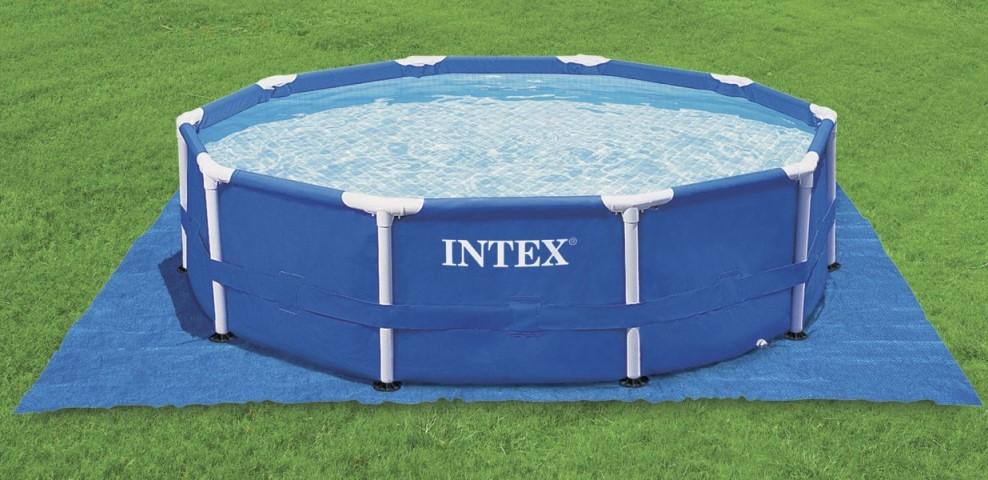 Intex Metal Frame Pool Komplett Set 457x91 ECO | Alle ...