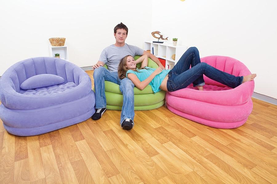 intex aufblasbarer sessel lounge n chair 68563. Black Bedroom Furniture Sets. Home Design Ideas
