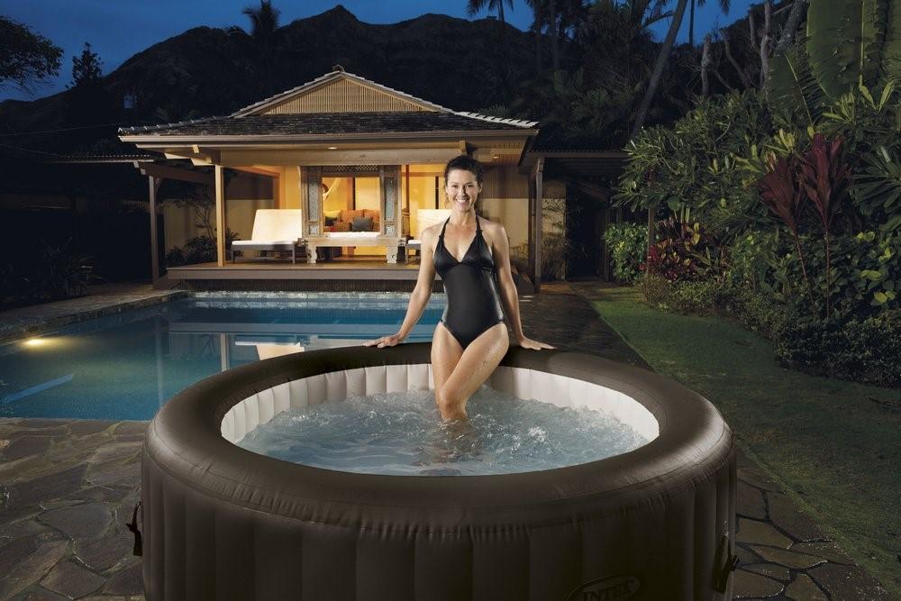whirlpool purespa intex jet massage spa 28422. Black Bedroom Furniture Sets. Home Design Ideas