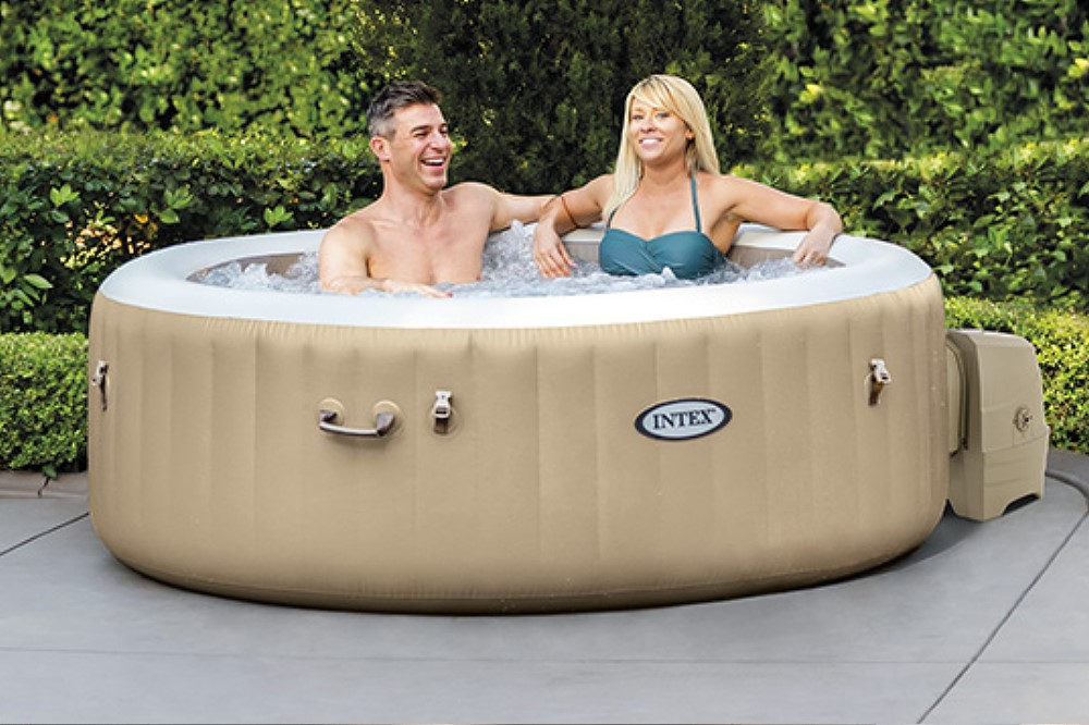 Whirlpool  Whirlpool PureSpa Intex SPA Bubble Therapy + Kalkschutz 28404