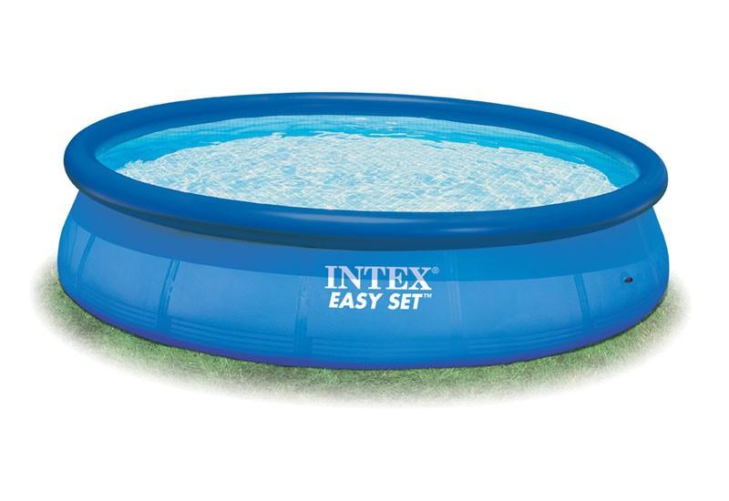 Poolfolie f r intex easy set 457x122 10415 for Poolfolie 460 x 90