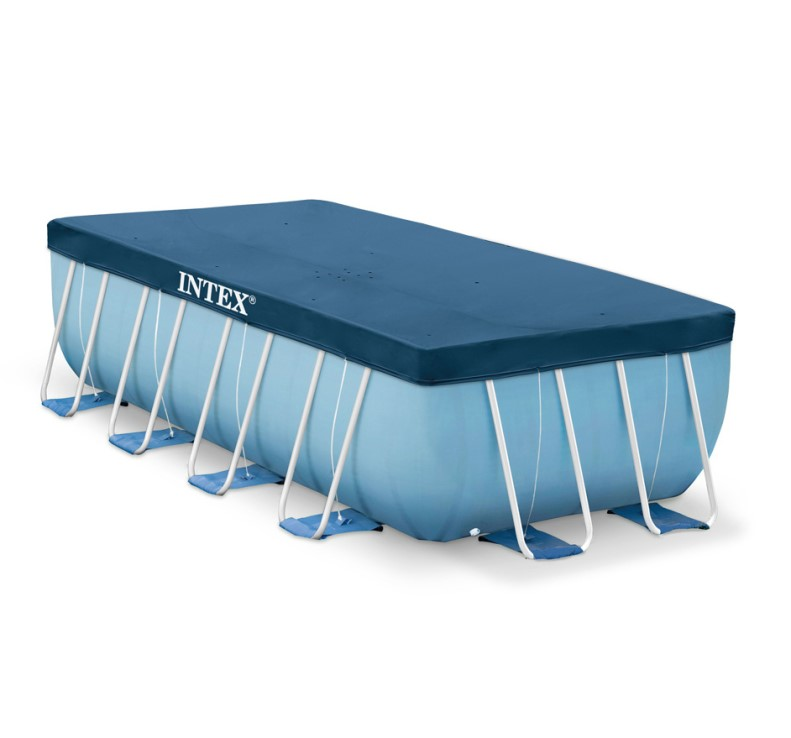 Intex abdeckplane f r frame pool 450x220 28039 for Piscine 4x2