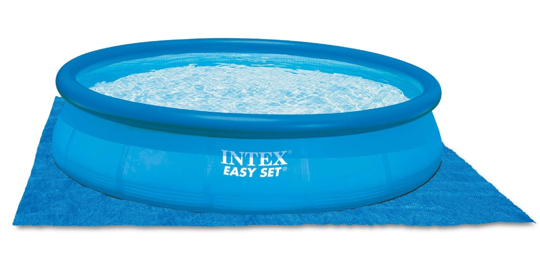 Intex swimming pool easy set 457x84 set eco 28180 for Swimmingpool abdeckplane