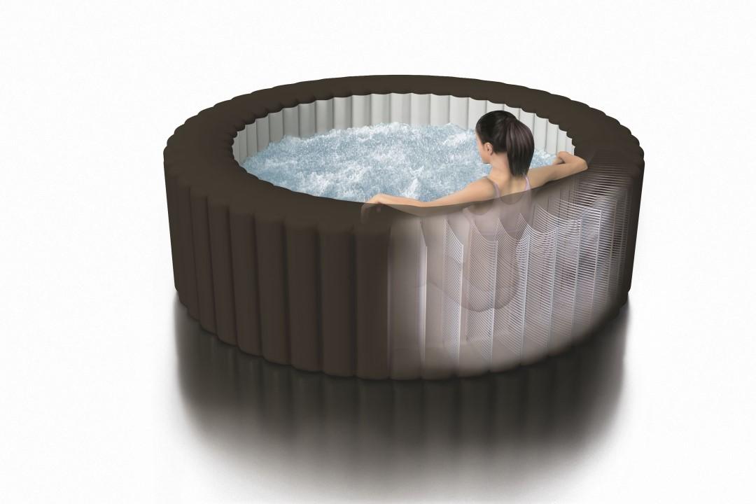 Intex pure spa whirlpool 79 octagon